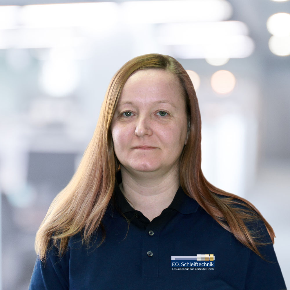 F.O. Schleiftechnik | Ansprechpartner | Karolina Radgowska
