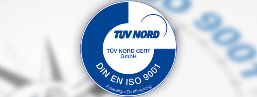 F.O. Schleiftechnik | News | Zertifizierung | DIN EN ISO 9001 : 2015